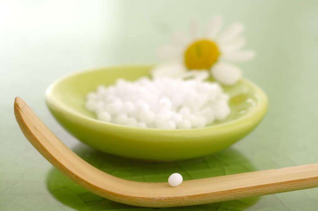 Homeopatická gulička