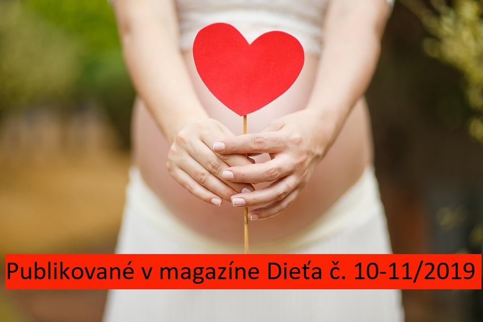 Tehotenstvo a pôrod