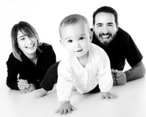rodina s dieťaťom
