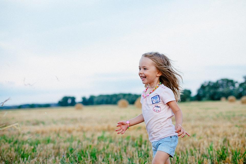šťastné dieťa