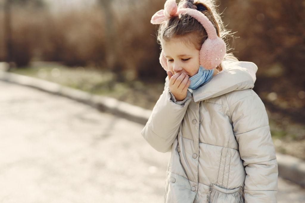 chronický kašeľ u detí